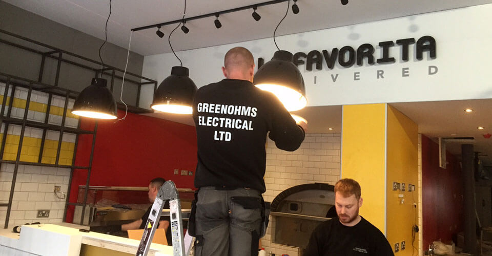 COMMERCIAL & DOMESTIC ELECTRICAL CONTRACTORS