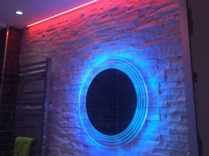 LED Bathroom Light Installation